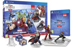 PS4 DISNEY INFINITY 2.0 MARVEL SUPER héros le PACK de démarrage AVENGERS