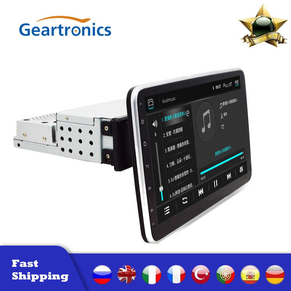 Hot Verkoop 1 Din Auto Multimedia Speler Autoradio Stereo 9/10 Inch Touch Screen Video Gps Wifi MP5 Speler Auto Radio auto MP5 Speler