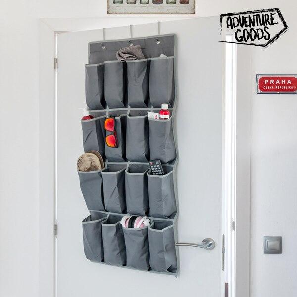 Ev ve Bahçe'ten Katlanabilir Depolama Çantaları'de Macera ürünleri cep organizatör (16 cepler) title=