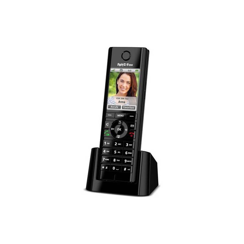 Cordless Phone Fritz! Fon C5 DECT GAP Black