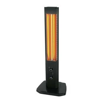 1800W Orbit tower heater vertical design indoor outdoor electric infrared patio space heater thermostated heating stove 600w infrared space heater panel room heater with wireless sensor thermostat