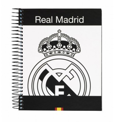 NOTEPAD A6 120 LEAVES REAL MADRID