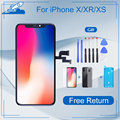Elekworld Grade Für iphone X OLED XS MAX XR TFT Mit 3D Touch Digitizer Montage 11 Pro Max LCD Bildschirm ersatz Display