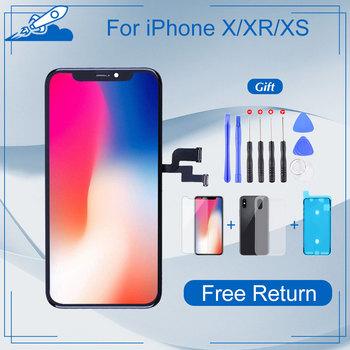 Klasa Elekworld dla iphone X OLED XS MAX XR TFT z ekranem dotykowym 3D Digitizer montaż nie martwy piksel ekran LCD wymiana wyświetlacza tanie i dobre opinie NONE CN (pochodzenie) Pojemnościowy ekran 1920x1080 3 For iphone X XS XR LCD i ekran dotykowy Digitizer Apple iphone