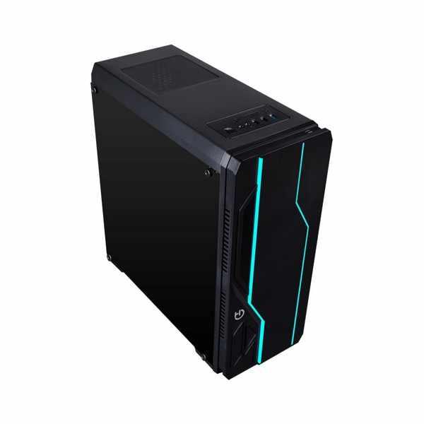 Caja Semitorre ATX con Lector de Tarjetas Hiditec V10 RGB