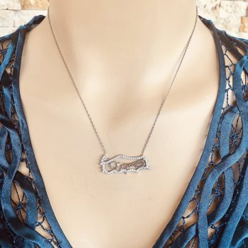 925 Silver TURKEY Necklace