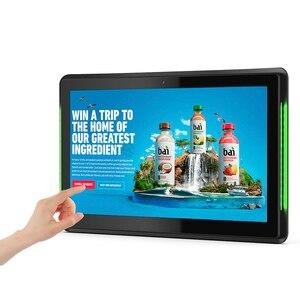 Image 2 - 10,1 дюймовый Android 8,1 PoE настенный планшетный ПК светодиодный светодиодными полосками для конференц зала, Расписание, дисплей с открытым исходным кодом