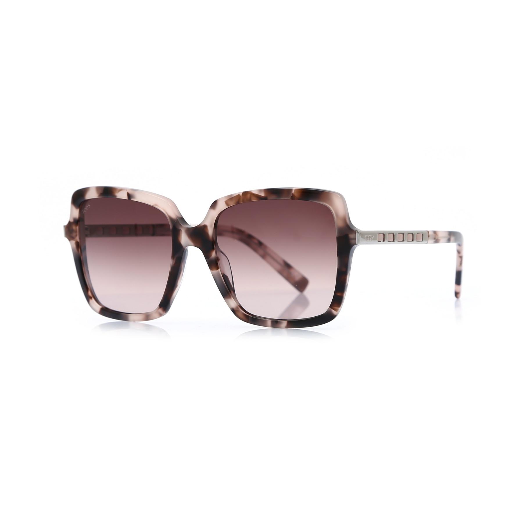 Women's sunglasses to 0250 55t Bone Brown organic square square 56-19-140 tods