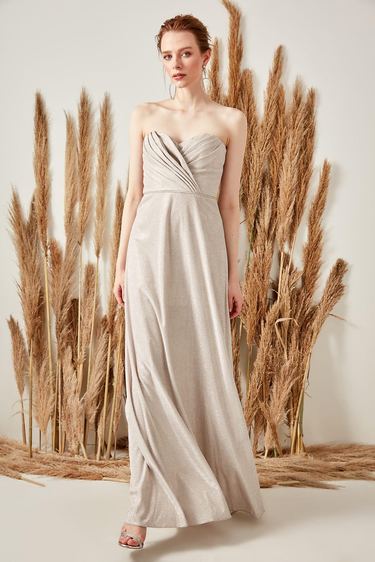 Trendyol Luminous Evening Dress TPRSS19VF0013