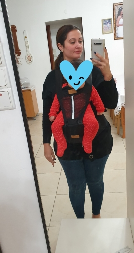 Hot Newborn Infant Baby Carrier Solid Breathable Ergonomic Adjustable Wrap Sling chest kangaroo Backpack 0 4 Years-in Backpacks & Carriers from Mother & Kids on AliExpress