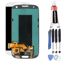 Full screen for Samsung Galaxy S3 i9300 White