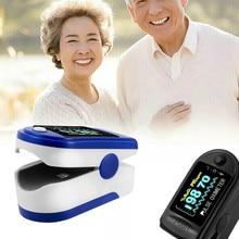 Oxygen-Monitor Oximeter Saturation Finger-Clip Blood Pulse Portable