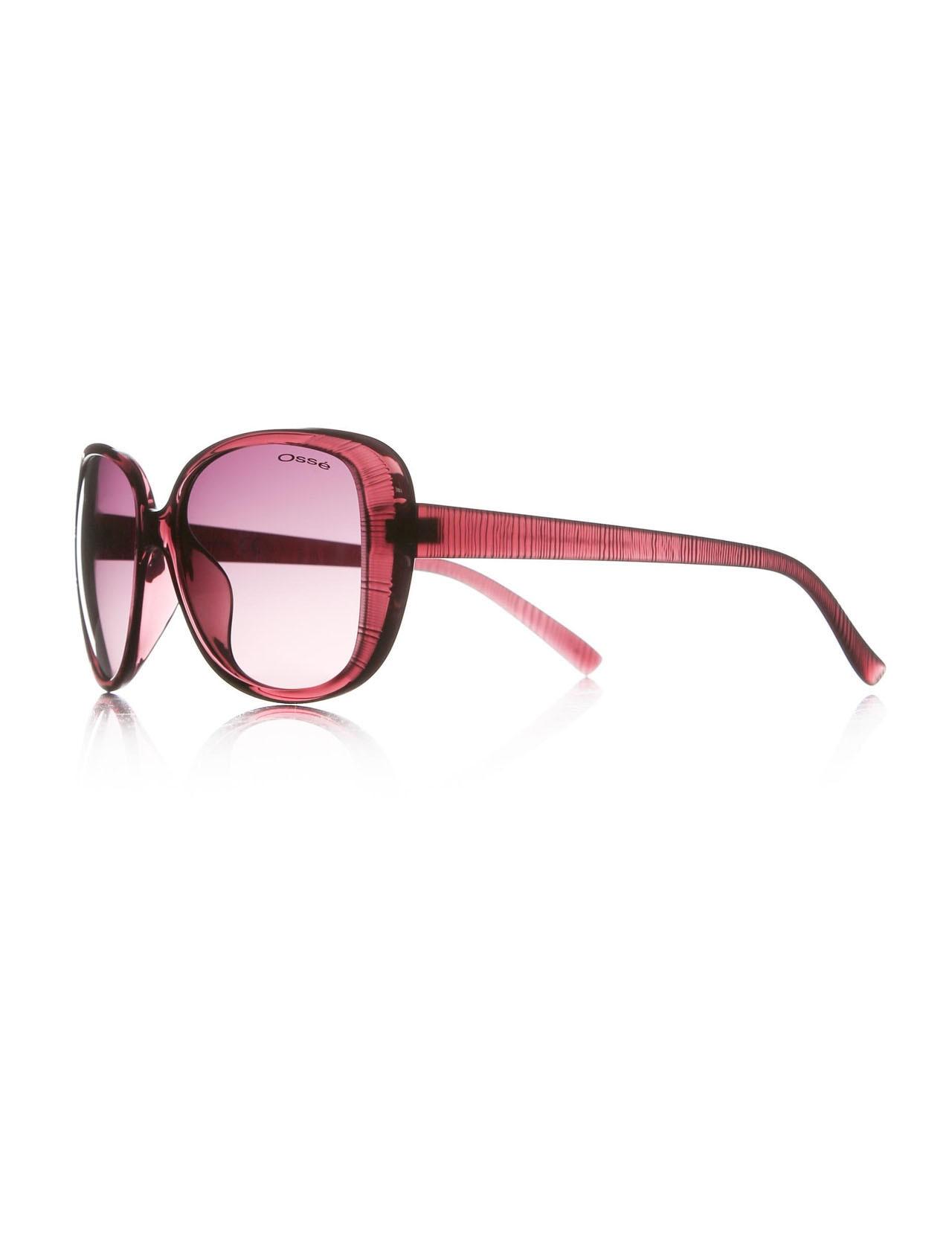 Women's sunglasses os 1728 02 bone purple organic oval aval 56-15-141 osse