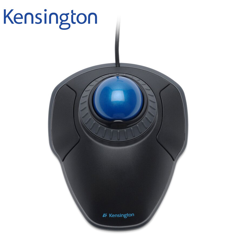 Original Kensington Orbit USB Trackball Mouse with Scroll Ring with Packaging K72337US