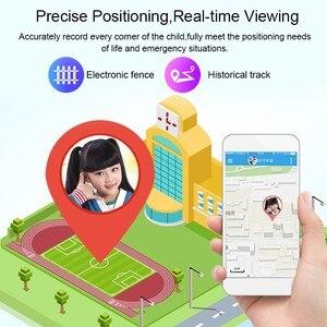 Image 5 - Original étanche enfants montre intelligente pour enfants SOS Anti perte Smartwatch bébé 2G carte SIM horloge appel Tracker montre