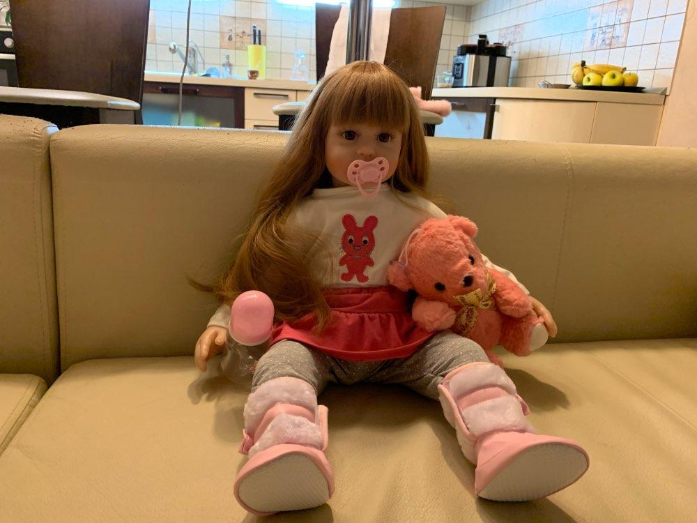 -- Bonecas Silicone Brinquedos