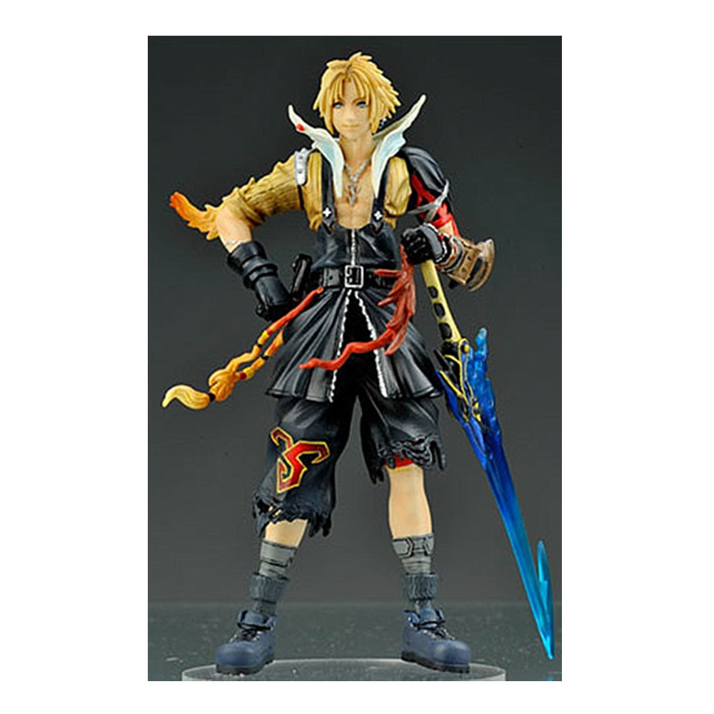 13CM Tidus And Squall Figure Final Fantasy Dissidia Vol.01FIGURA PVC Collection For Young Boy Girl Gift