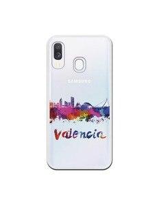 Official Skyline Valencia clear case for Samsung Galaxy A40