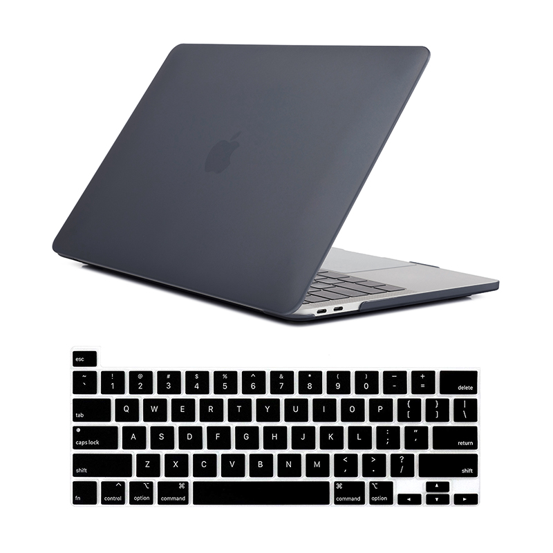 Image 5 - For New MacBook Pro 16 Case 2019 Release A2142 Laptop Bag Case  for Mac Book Pro 16 with Touch ID Touch Bar   US Keyboard CoverLaptop  Bags