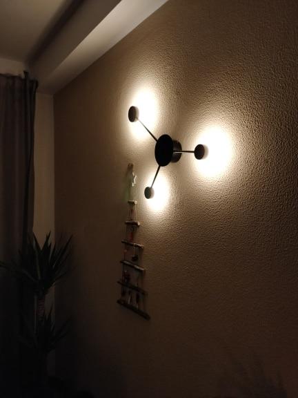-- Lâmpada Parede Exposição
