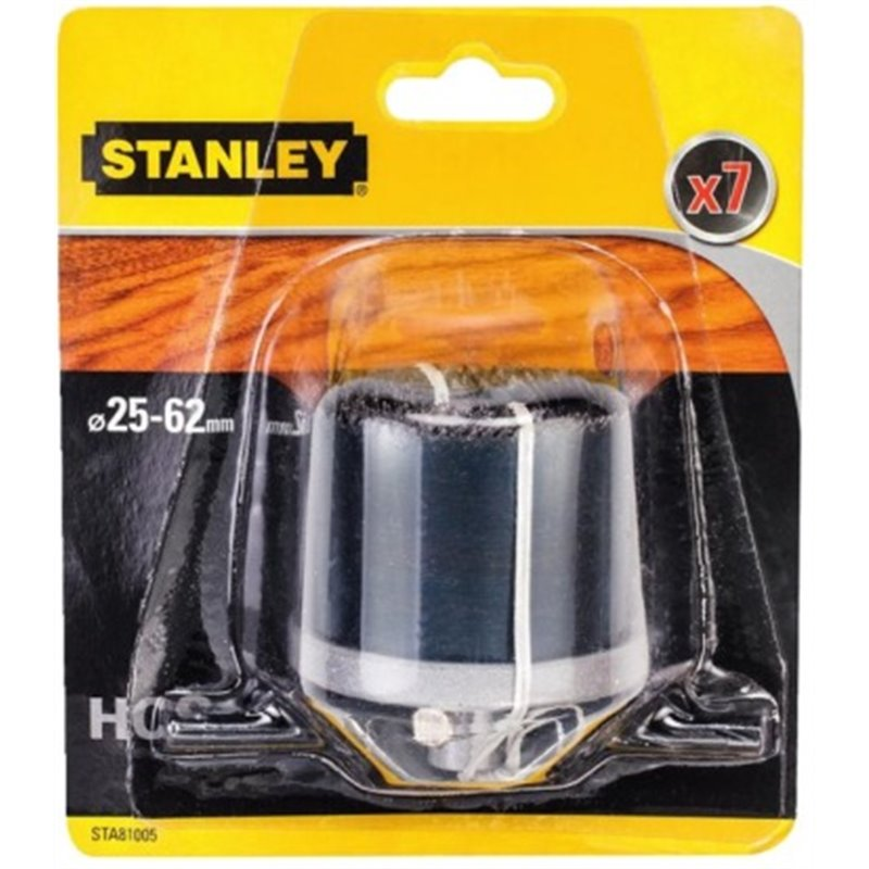 DRILLING CROWN FOR WOOD 25 TO 62MM-40MM PROFUN STANLEY 7 P