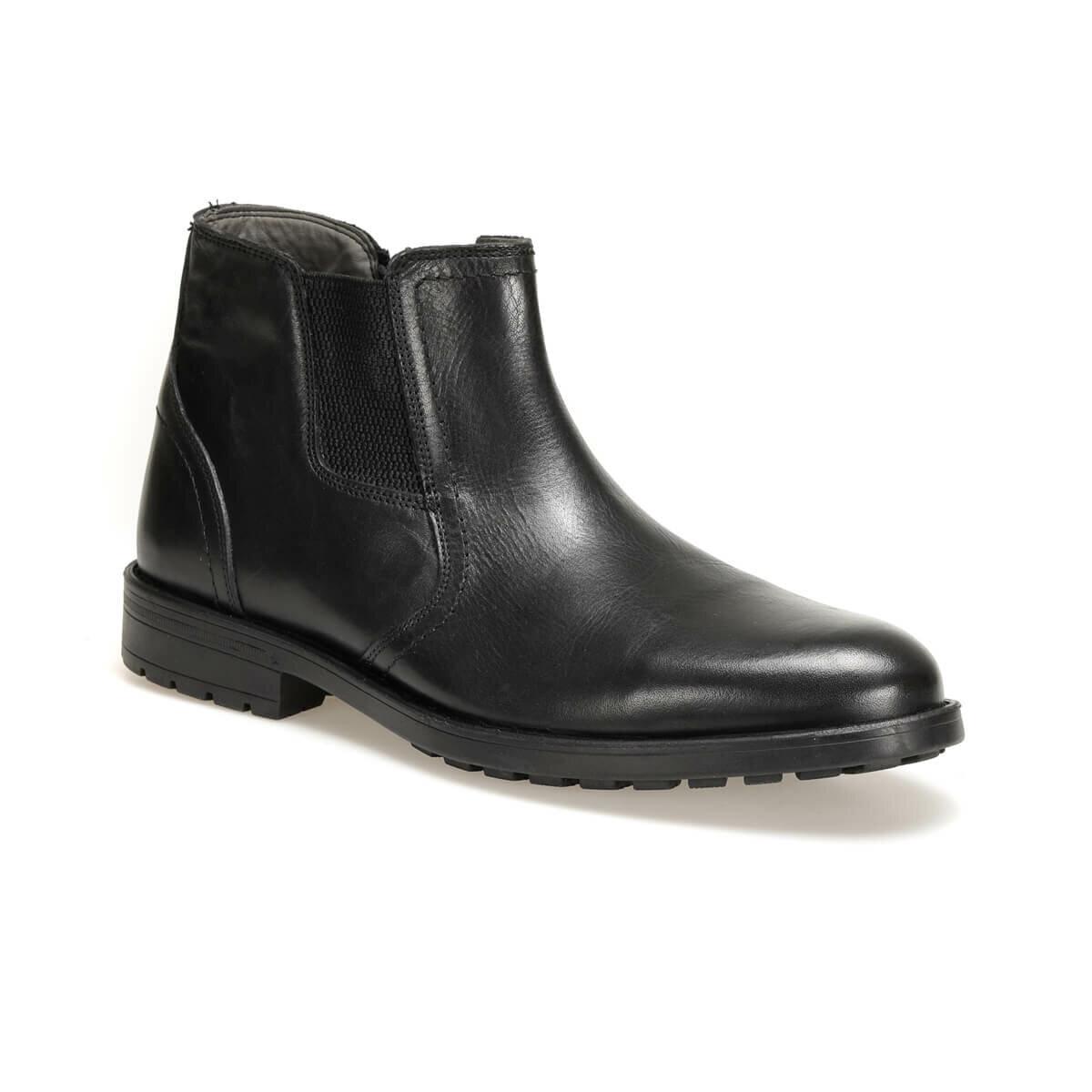 FLO 204-4 Black Men Boots Garamond