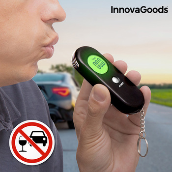 InnovaGoods Digital Alcohol Tester