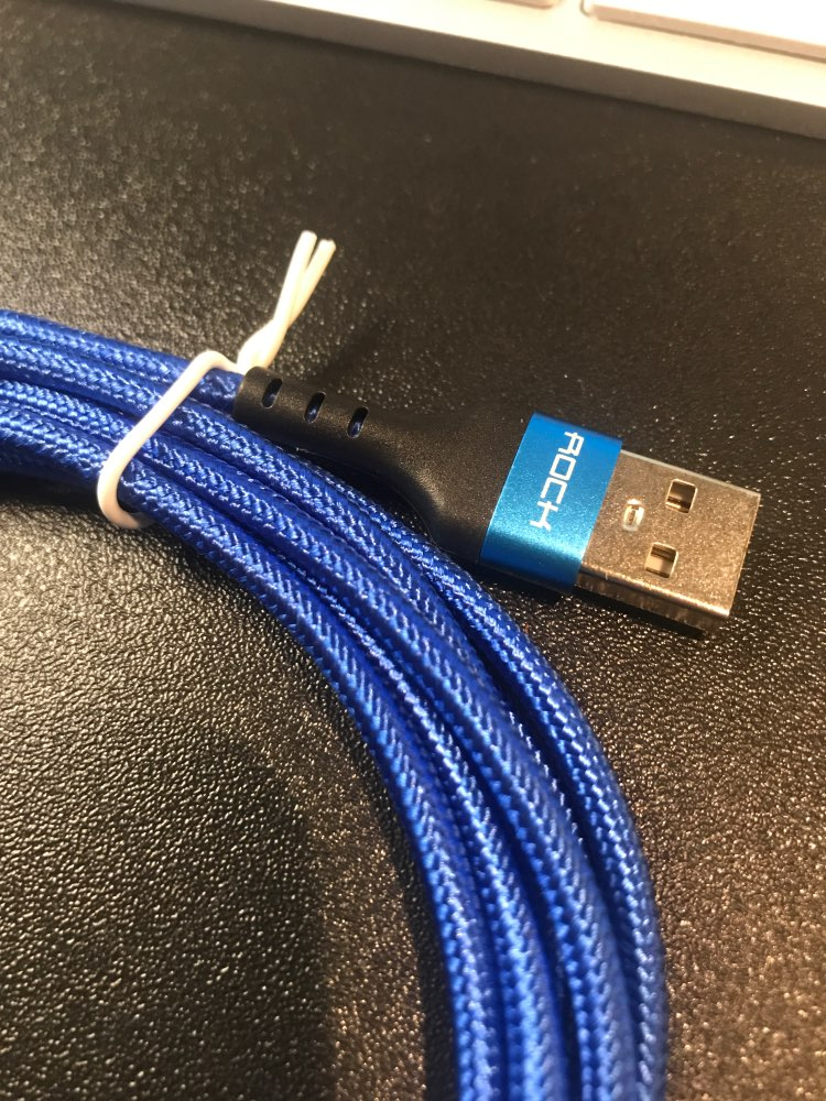 ROCK Knit USB Cable For iPhone 11 pro max Xr X 8 7  plus iPad Fast Charging Mobile Phone Cable Cord Data Charger Wire For iPhone|Mobile Phone Cables| |  - AliExpress