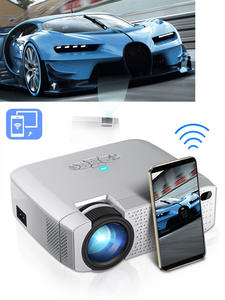 AUN Mini Projector Smart-Phone-Screen Home Cinema Portable LED with Synchronize for Fast-Delivery