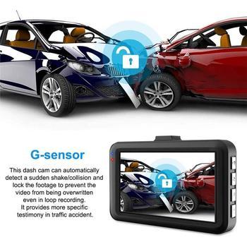 "Full HD 1080P Dash cam Video Recorder Driving For Car DVR Camera  3"" Cycle Recording Night Wide Angle Dashcam Video Registrar 2"