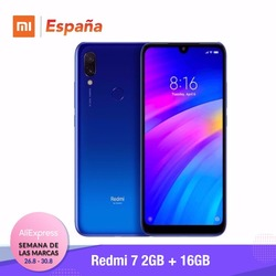 [Wersja globalna dla hiszpanii] Xiaomi redmi 7 (pamięci wewnętrzne de 16 GB, pamięci RAM de 2 GB, Bateria de 4000 mah) Movil redmi 7 2