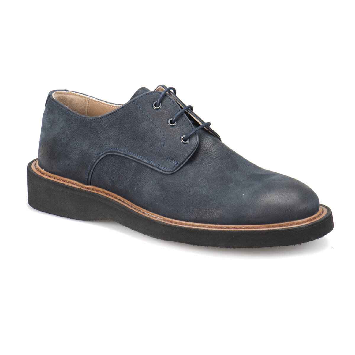 FLO 2495 Navy Blue Men 'S Classic Shoes Garamond