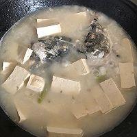 快手鲜美鱼头豆腐汤的做法图解9