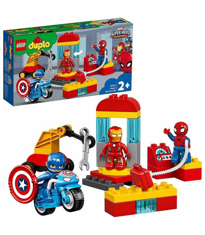 Lego 10921 Lab Superheroes Toy Store