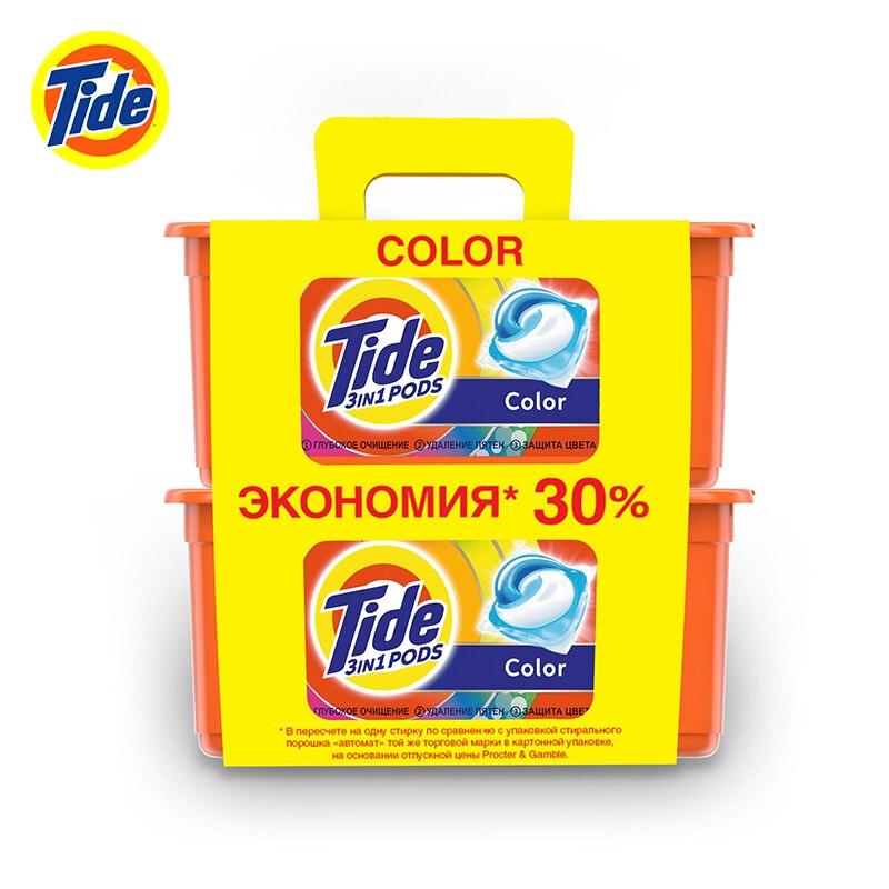 Капсулы для стирки Tide Color 30+30 шт.