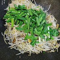 豆芽炒韭菜的做法图解5