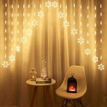 Светодиодная занавеска Сказочный струнный светильник Новогодние