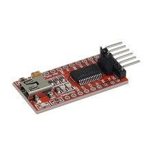 1 pces ftdi ft232rl usb para ttl serial converter adaptador módulo 5 v e 3.3 v para arduino quente em todo o mundo 4.9