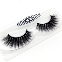 LOVE·THANKS 30 pairs/pack False Faux Mink Eyelashes Black Cotton Band Lashes Handmade Volume Extensions F05