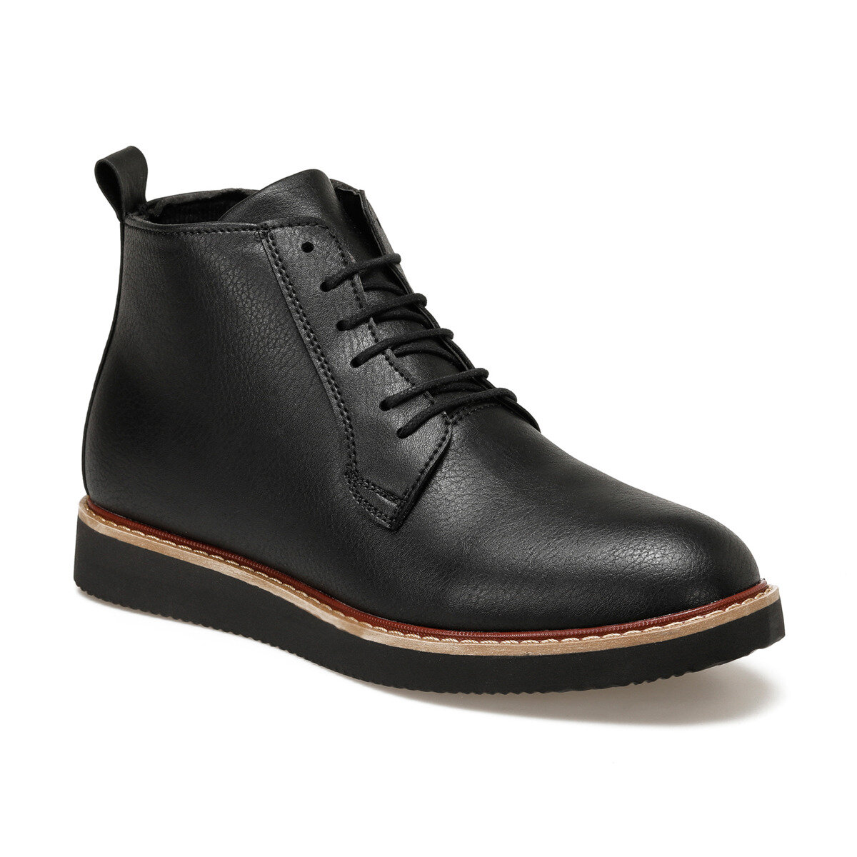 FLO 3321-2 Black Men Boots JJ-Stiller