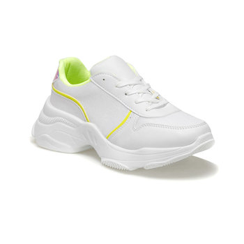 FLO 19SF-1620 białe damskie buty sportowe BUTIGO tanie i dobre opinie Trzciny