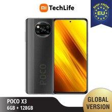 POCO-teléfono inteligente X3 6GB RAM 128GB ROM, teléfono móvil sin estrenar/sellado, NFC , pocox3, poco, 128, versión Global
