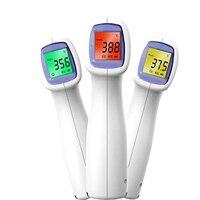 Termómetro Digital infrarrojo para adultos y niños, herramienta de medición de temperatura láser sin contacto para la frente