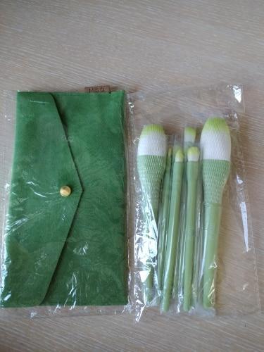 8PCS Makeup Brushes Sets Powder Foundation Blusher Eyeshadow Brush Candy Cosmetic Colorful Make Up NO MSQ LOGO With Bag reviews №1 62063