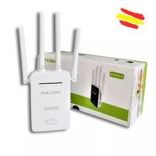 Ретранслятор Wi-Fi усилитель сигнала PIX-LINK LV-WR09 Wi-Fi 50 МТС беспроводной расширитель диапазона мини маршрутизатор 4 антенны качество