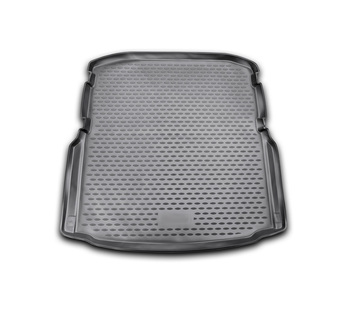 Trunk car mat for Skoda Octavia III A7 2013~2020 car interior protection floor from dirt guard car styling image