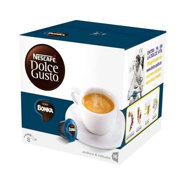 Ev Aletleri'ten Kapsül Kahve Makinesi'de Kahve kapsülleri Nescafé Dolce Gusto 13758 Espresso Bonka (16 uds)