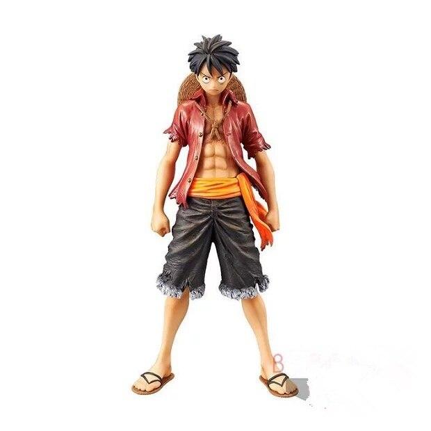 Original Banpresto One Piece Monkey D. Luffy Volume 1 DXF The Grandline Men PVC Action Figure Model Figurals