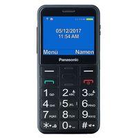 Teléfono Móvil para Mayores Panasonic KX-TU150 TFT LCD Dual SIM Negro
