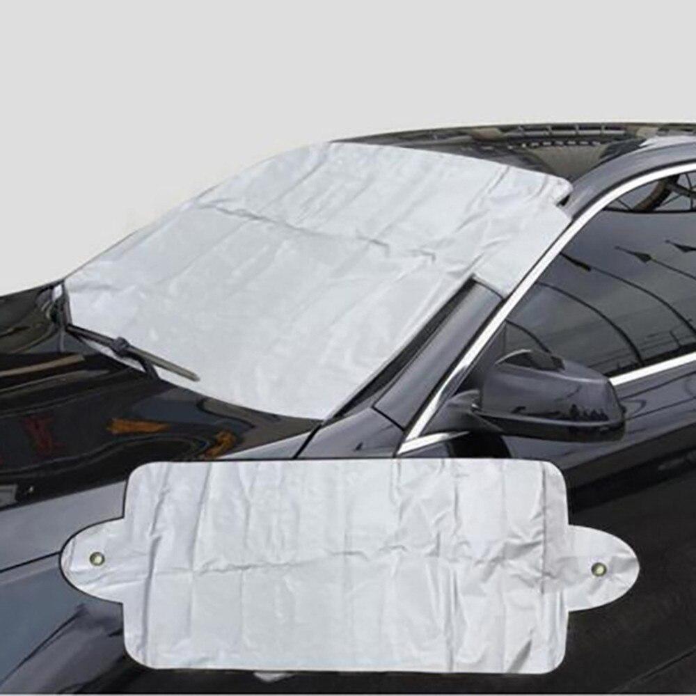 Vehemo Передняя Солнцезащитная шторка для окна автомобиля Лобовое стекло Солнцезащитный козырек Защита от солнца крышка лобовое стекло автомобиля для снежной зимы авто солнцезащитный козырек портативный